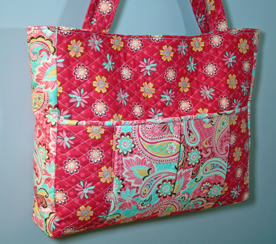 Cloth Bags: How To Make Quilted Bags
